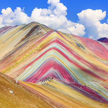 The Serendipitous Emergence of Peru's Rainbow Mountains